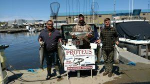 Maine boys get paid in Oswego Silvers !